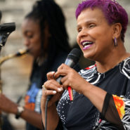 Antoinette Montague at Jazz Power to the People Concert - Anne Loftus Playground, NY 2018